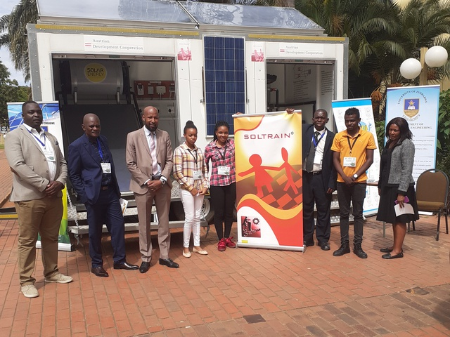 SOLTRAIN Zimbabwe exhibits at the Renewable Energy and Biofuels Policies launch