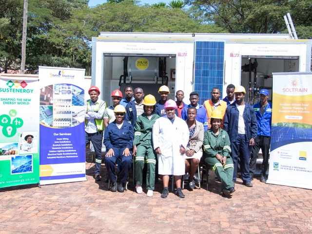 Women and youth a driving force in solar thermal activities in Zimbabwe