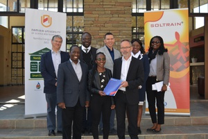 SOLTRAIN's Support Scheme for Postgraduate Students has awarded fifteen bursaries so far with more to come