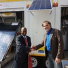 SOLTRAIN hands over demonstration trailer to University of Botswana