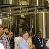 SOLTRAIN study visit to the Cape Brewing Company