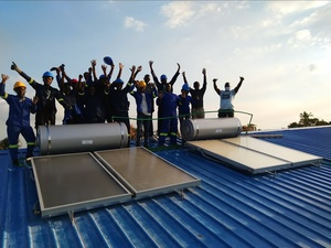 SOLTRAINkicks offthe next round of Mozambique's training activities in Beira