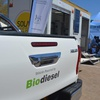 SOLTRAIN Project Trailer on display at the Gaborone International Consumer Trade Fair