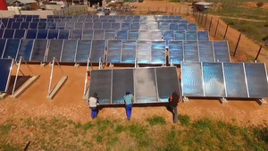 Ostrich leather tannery's cost and energy savings quantified after two-and-a-half years of operation with solar