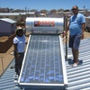 Monitoring of domestic solar water heating systems in Namibia