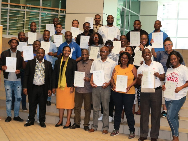 Solar water heating dissemination workshop in Botswana