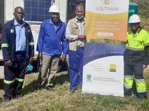 Solar thermal information dissemination and training continues in Zimbabwe