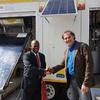 SOLTRAIN hands over demonstration trailer to University of Botswana