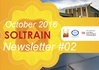 SOLTRAIN Newsletter - October 2016