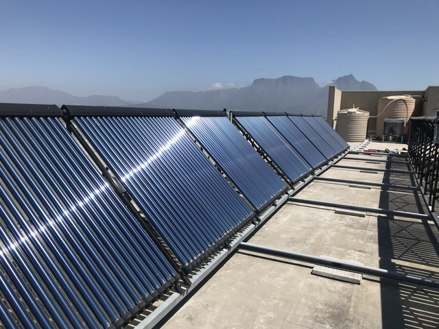 Hospital reaps the reward of hybrid solar thermal system