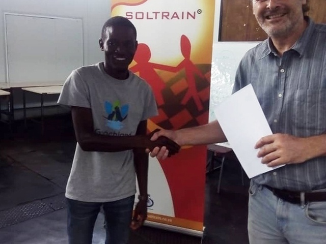 Local Zimbabwean SMME exemplifies efficacy of SOLTRAIN's practical and theoretical training interventions