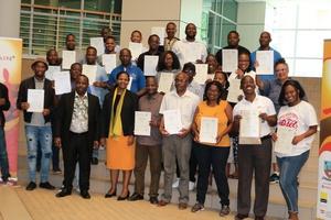 Solar water heating dissemination workshop in Botswana