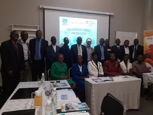 SOLTRAIN Hosts Zimbabwe's first solar heat policy workshop