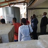 Energy stakeholders conduct tour of Maruapula Secondary School's solar thermal installations