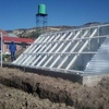 Solar thermal energy for wastewater treatment